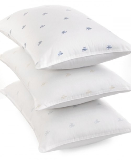 Lauren Ralph Lauren Logo Extra Firm Density King Pillow Bedding