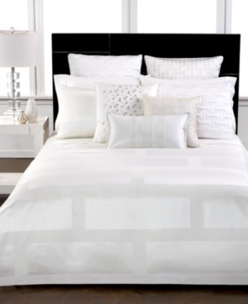 Hotel Collection Frame White California King Bedskirt Bedding
