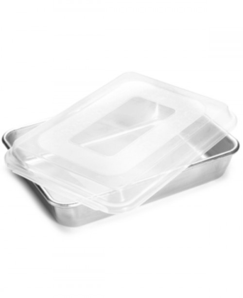 """Nordic Ware 9"""" x 13"""" Covered Cake Pan"""