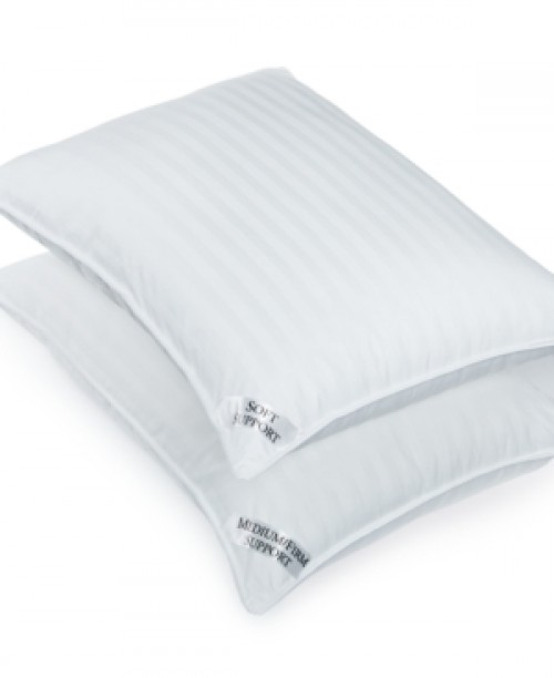 Charter Club Sleep Cloud Down Alternative Medium/Firm Density Standard Pillow, Only at Macy's Bedding