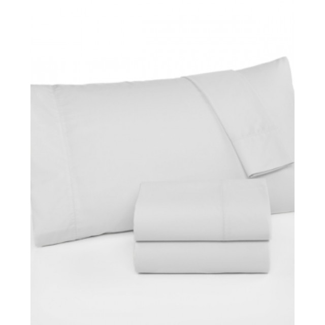 Martha Stewart Collection 360 Thread Count Percale Twin Sheet Set